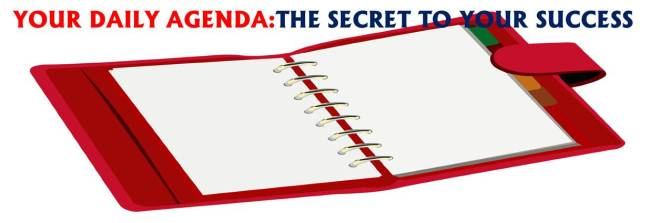 """""""The secret of your success is determined by your daily agenda."""" - John C. Maxwell"""
